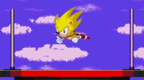 Sonic 3 Super Sonic Ending